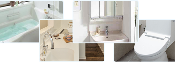 排水の悪臭解消と高圧洗浄など解消法まとめ:排水がある主な場所