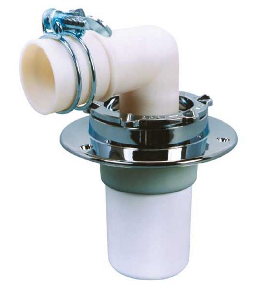洗濯機の排水溝の詰まり修理その2:排水トラップやエルボの交換・取り替え
