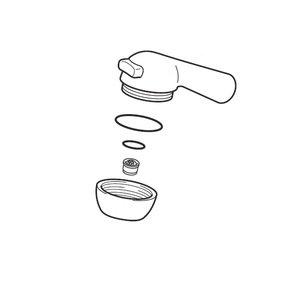 シャワー付き蛇口の水漏れ修理方法:ヘッドの交換