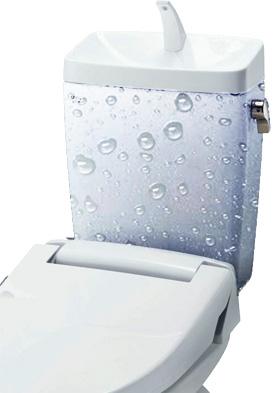 トイレの床が水漏れしていた場合の原因特定方法:便器の結露