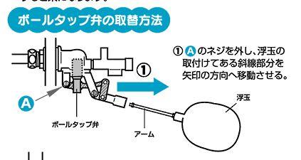 トイレタンクの水漏れ修理方法:水が溢れる