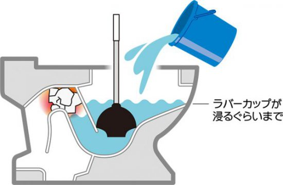 ラバーカップの正しい使い方:コツは『水に浸す』