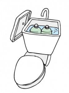 トイレ節水
