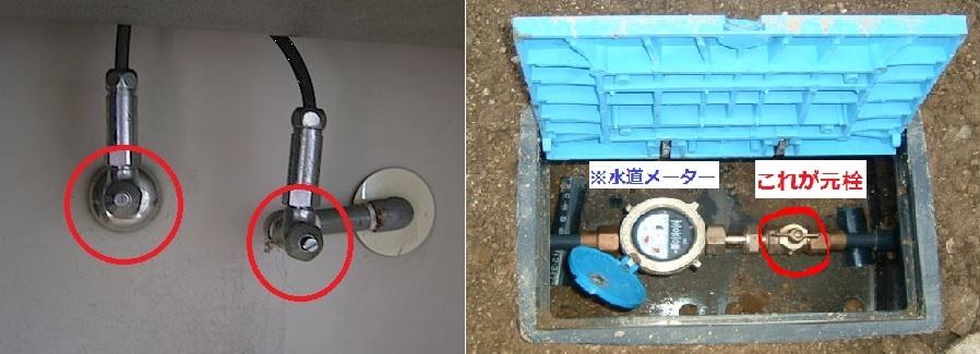 水道の止水栓・元栓