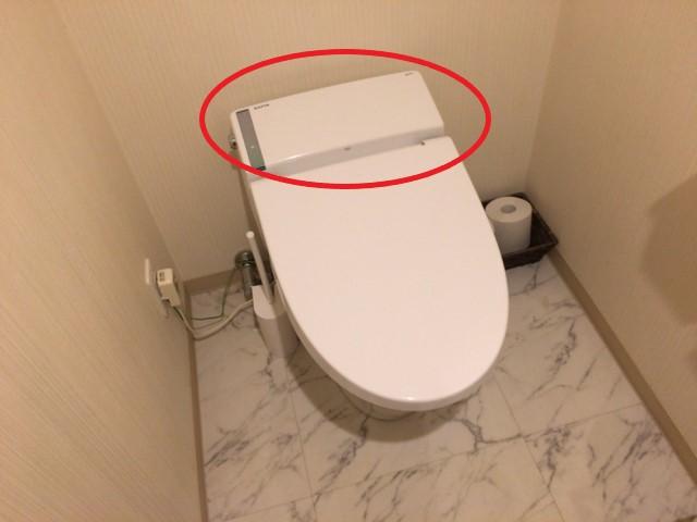 タンクレストイレ分解